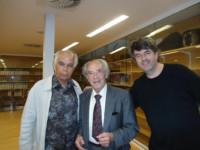 Avec Paul Badura-Skoda et Karst de Jong