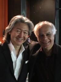 Avec le chef d orchestre Naoto Otomo