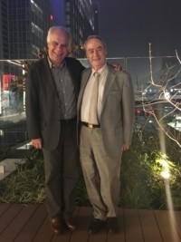 Avec le violoniste Gerard Poulet