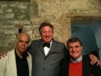 Avec Leslie Howard et Jean-Bernard Pommier