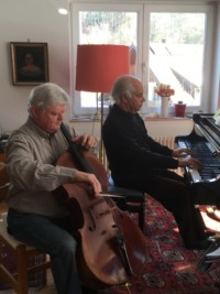 En répétition avec Christoph Henkel