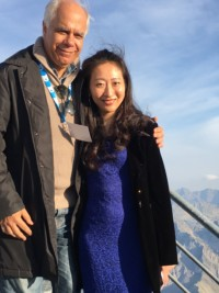 Avec la pianiste Etsuko Hirose