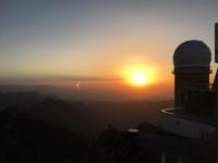 Coucher de soleil au Pic du Midi