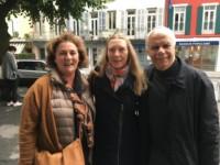 Avec Maria Weissenberg et Monica Adrian
