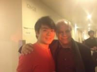avec le pianiste Lang Lang