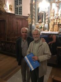 Avec son frère le Professeur Gérard Reach