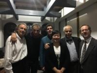 Avec Gérard Caussé, Jean Ferrandis, Joan Martin-Royo, Sheng Li et Yvan Chiffoleau