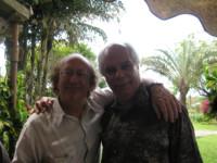 Avec le clarinettiste Michel Lethiec