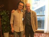 avec son élève le pianiste Chenxi LI