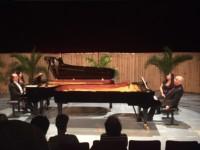 Concert à deux pianos avec Cyprien Katsaris