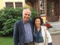 Avec la pianiste Edith Fischer