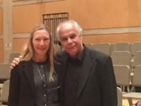 Avec Maria Weissenberg